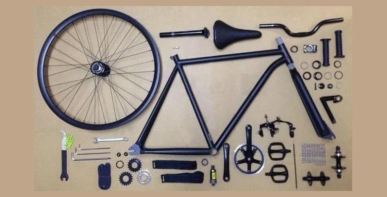 Arti Nama Komponen Sepeda